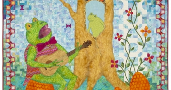 """""""Froggy Went A-Courtin'"""" by Laurie Schoenebeck from Mountain, WI"""