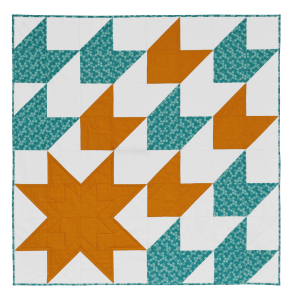 Sample Quilt for Adult Beginner Quilting workshop