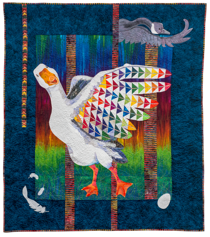 """Jacob's Plumage"" by Patricia Hobbs, Macomb, IL"