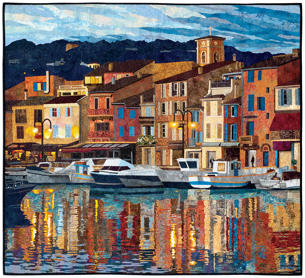 Port of Cassis by Lenore Crawford