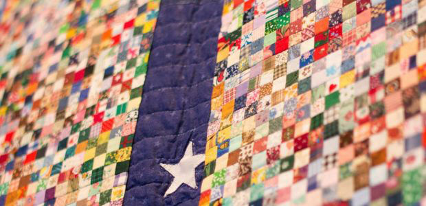 """9.11.2001"" quilt honors the fallen"