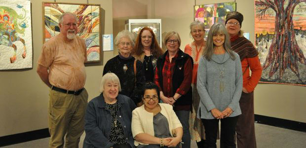 Paducah Fiber Artists in Corner Gallery