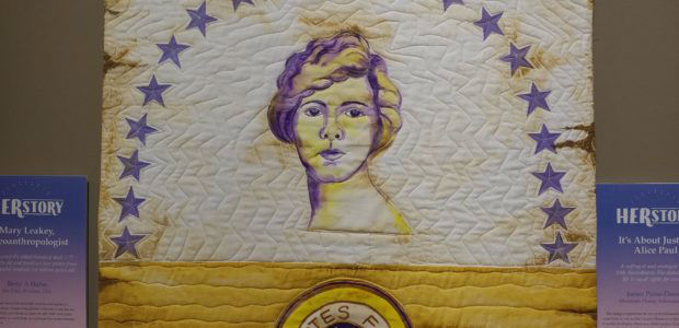 HERstory tribute to Alice Paul
