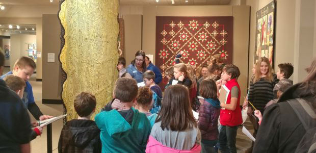 Local students introduced to the art of quilting