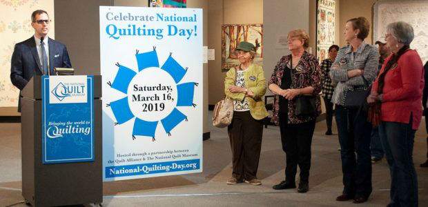 National Quilting Day 2019 Kickoff Event
