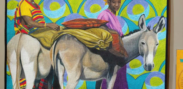 'Stories of West Africa' showcased at National Quilt Museum