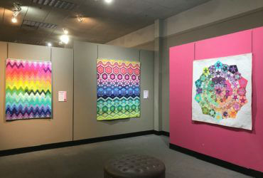 Corner Gallery features Tula Pink