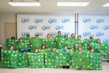 Young quilters have fun at Quilt Camp 2019