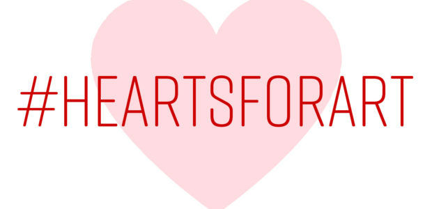 #Hearts for Art