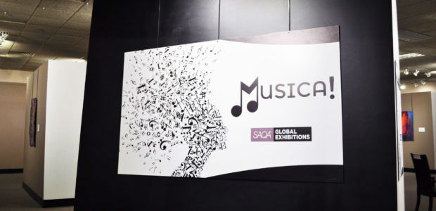 New Exhibit: SAQA Musica!