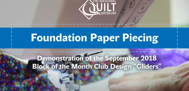 Foundation Paper Piecing (Video)